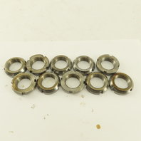 Whittet-Higgins N-05 Carbon Steel Bearing Retaining Nut .969-32 Thread Lot/10