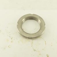 Whittet-Higgins NS-09 Stainless Steel Bearing Retaining Nut 1.767-18 Thread