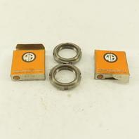 Whittet-Higgins BH-08 Steel Bearing Retaining Nut 1.563-18 Thread Lot Of 2