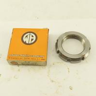 Whittet-Higgins PN-07 Steel Precision Bearing Retaining Nut 1.376-18 Thread