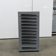 """11 Drawer Industrial Parts Tool Storage Shop Cabinet 30""""x28""""x59"""""""