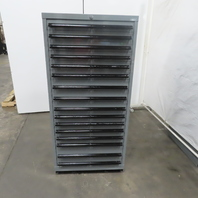 """13 Drawer Industrial Parts Tool Storage Shop Cabinet 30""""x28""""x59"""""""