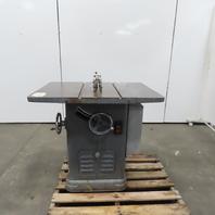 "Rockwell Delta 10"" Tilt Table Saw 3Hp 208-230/460V 3Ph W/Blade Guard"