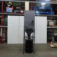Donaldson Torit Model 34-H-55 Dust Collector System 3Hp 208-230/460V 3Ph