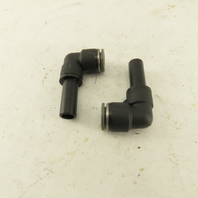 """1/2"""" Male Stem X 1/2"""" Push To Connect Tube Elbow 90°Nylon Fitting Lot Of 2"""