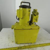 Enerpac PE645 1 Hp 5 Gallon Hydraulic Power Unit 10,000Psi Max 115V Single Phase