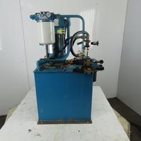 20 Gallon Hydraulic Power Unit 5HP 230/460V 3PH
