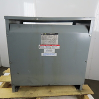 Square D Sorgel 75T6H 75KVA 3 Phase General Purpose Transformer 480V HV  240V LV