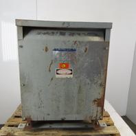 Square D Sorgel 30T3H 30KVA 3 Phase Insulated Transformer 480V HV 208Y/120V LV
