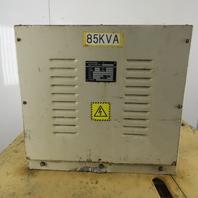 Fuji Electric 85KVA 3 Phase Transformer 480/440/415/408/380/240HV 220/200V LV