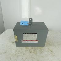 Square D 3T2F Insulated Transformer 480V Delta Pri x 208Y/120V Sec 3Ph 3kVa