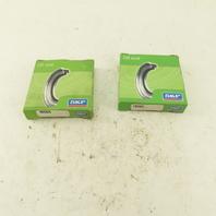 """SKF 18565 Double Lip Oil Seal 1.875"""" Shaft x 0.313 Width Lot Of 2"""