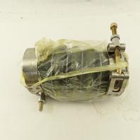 """Duravent 2-3/4"""" ID Flexible Rubber Duct Hose Segment Union Coupling 7"""" OAL"""