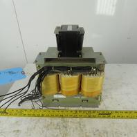 Tokuden Sangyou 7.5KVA 3 Phase Insulated Transformer 440-480V HV 210-240V LV