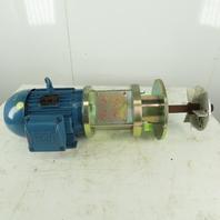 Weg TE1BF0X0N 5Hp 1755RPM 230/460V Side Ported Mixer Agitator