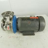 Goulds 4SH1J5E0 5Hp 3450RPM 208-230/460V1.5x2.5-6 Centrifugal Pump Baldor Motor