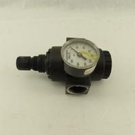 """Master Pneumatic IR180M-8 15-200 PSI 300PSI Max 1"""" NPT Air Pressure Regulator"""