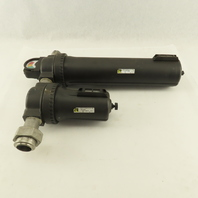 """Master Pneumatic BFCD201H-8E8 BFD100-8 1"""" NPT 2 Stage Airline Filter Assembly"""