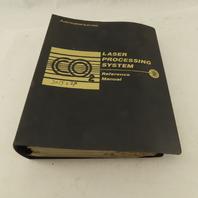 Mitsubishi LC20B CO2 Laser Processing System Control Unit Instruction Manual