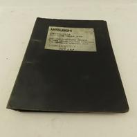 Mitsubishi ML5036D Laser Processing Cutting Conditions Manual Japanese English