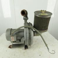 North American 2308-11/3-T.5 Turbo Blower 1/2Hp 208-230/460V 3Ph 3450RPM