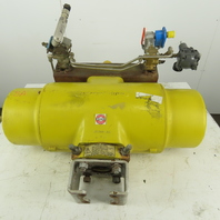 Hytork 4580 Pneumatic Air Actuator 120PSI W/Control Valves & Position Monitor