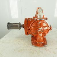 "Wilden 04-3129-01 Pro-Flo #4 Pneumatic Metal Diaphragm Pump 1-1/4"" x 1-1/2"""