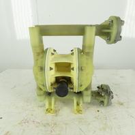 """1"""" Non Metallic Diaphragm Pump Parallel Port"""