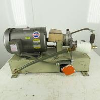 Baldor Hydraulic Power Unit 10 Gallon Tank 10Hp 1725RPM 208-230/460V 3Ph