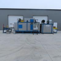 "Serigraphie 40""W x 30' Industrial Belt Dryer 400,000 BTU Nat. Gas Fired 480V 3Ph"