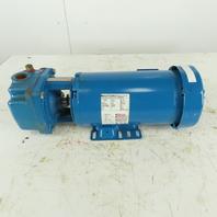"Burks T330CS9M 3Hp 3450RPM 3Ph 208-460V Close Coupled Turbine Pump 1-1/4"" x 1"""