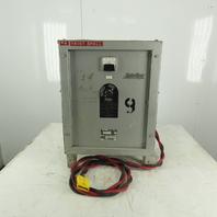 C & D AR12C/E520 30VDC 120A Forklift Battery Charger 208-230/460V Single Phase
