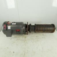 Gusher MSC4-11-1000FJ 10Hp 3450RPM 3Ph 208-230/460V Multistage Pump