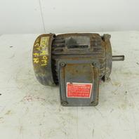 GE Motors 5KE145SC205 1-1/2Hp 1730RPM  230/460V 145T Severe Duty AC Motor