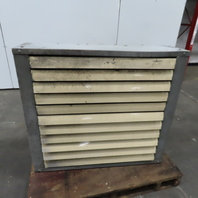 """Hydraulic Oil After Cooler Heat Exchanger 36"""" x 42"""" 1Hp 1740RPM 208-230/460V 3Ph"""