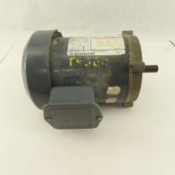 GE Motors 5K33FN41A 1/3Hp 3450RPM 208-230/460V 3Ph 56C Frame Electric AC Motor