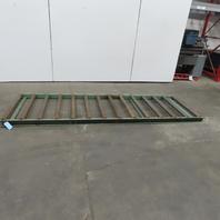 "Roach 40-1/4""x120"" Gravity Roller Conveyor 37""BF 2.50 Diam Rollers 9"" Centers"