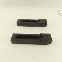 Carr Lane CL-95-SAC Serrated Adjustable Edge Step Strap Clamp Lot Of 2