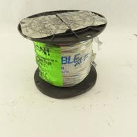 Omni Cable M514ST-02 14AGW 600V Wire 500' Spool White/Blue Stripe
