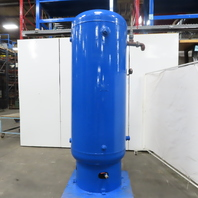 350 Gallon Upright Vertical Compressed Air Receiver Tank 150 PSI WP