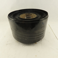 """8"""" Total Blackout Opaque Vinyl Strip Curtain 0.075 Thick 157' Roll"""