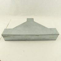 """3"""" x 3"""" x 3"""" Galvanized Steel Wire Way Duct Trough Lay In TEE"""