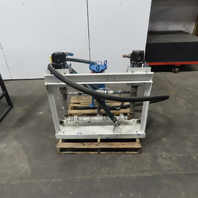 Ingersoll ARO 650453-7 9:1 Ratio Dual Pump Fluid Reclaiming Filtration System
