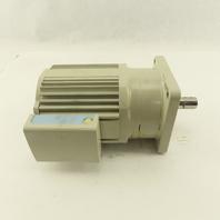 Sumitomo CNVM01-5075-51 0.1kW 1720RPM 200/220V F-63S Frame 51:1 Ratio Gear Motor