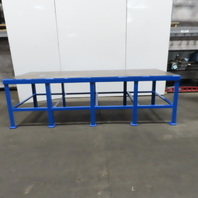 """48"""" x 120"""" x 36"""" Tall Steel Top 3/8"""" Thick Heavy Work Assembly Welding Table"""