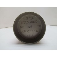 "Weld Mold Co. No. 325 3/16"" Dia 10LB Tool & Die Welding Electrode Rod"