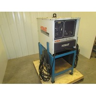Hobart Excel-Arc 500cc 400Amp DC Arc Welder on stand with leads