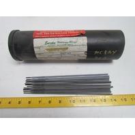 "Eureka 1215 Stick Welding Electrode Rods 3/32"" 3 LB"