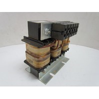 TCI Trans-Coil KLR18ATB TCI DWG KLR-5 600V 18A Max 3-PH Line Reactor Sine Guard
