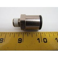 "Legris 3175 62 13 Push-to-Connect Male Stud Push-In Fitting 1/2x R1/4"" BSPT"
